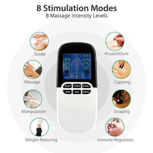 Image 5 - 2 in 1 Electric Nerve Stimulator Tens Massager Nose Rhinitis Sinusitis Allergy Laser Therapy Treatment with Electrode Pads