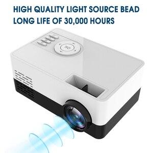 Image 5 - 1080P HD מקרן מיני LED מקרן כף יד סרט Beamer עבור וידאו משחקים חכם קולנוע ביתי מדיה נגן