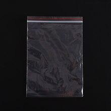 Bolsas transparentes de 14x20 cm para joyería, cierre hermético, resellable, de plástico, para boda, Navidad, 14x20 cm, 100 Uds.