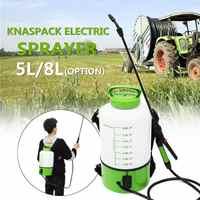 5/8 liter Rucksack Elektrische Power Sprayer Sprinkler Nebel Duster Bauernhof Bewässerung Spritzen Maschine Pumpe Bewässerung Garten Werkzeuge