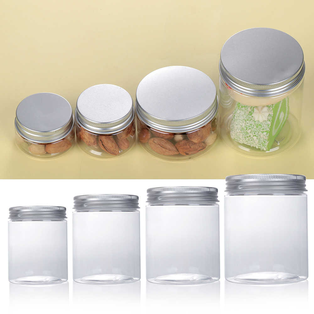 1PC พลาสติกอลูมิเนียมดีบุกขวดที่ว่างเปล่า Jar เครื่องสำอางค์ Lip Balm คอนเทนเนอร์น้ำมันดีบุก Home Storage เครื่องมือ