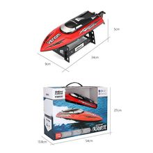 High Speed RC Boat Remote Control 2.4G 4 CH Racing Remote Control Boats for Children Gift Toys 634F цена
