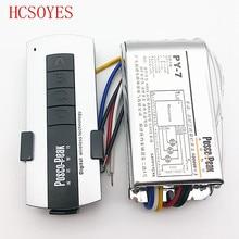 LED3 дорожный пульт дистанционного управления, контроллер 1000 Вт * 3 канала, переключатель высокого напряжения, packet контроллер, Беспроводной RF чувствительный пульт дистанционного управления, переключатель