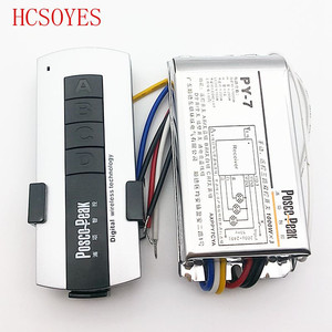 Image 1 - LED3 road remote switch controller 1000W*3CH high voltage switch packet controller wireless RF sensitive remote control switch