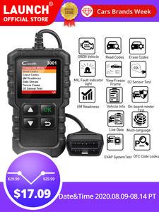 LAUNCH Code-Reader Car-Diagnostic-Tool Engine-Light Update Full-Obd2-Scanner ELM327 CR3001