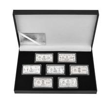 WR – lot de 7 pièces de pièces de monnaie, jeu de pièces de monnaie à collectionner, jeu de Souvenirs, cadeaux, livraison directe
