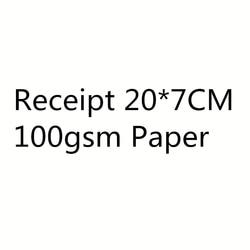 20*7cm Busines Ricevuta Libretto 10*50 Pagine di Carta Stampa Personalizzata di Carta Società di Progettazione di Cancelleria Pubblicità 100gsm di carta
