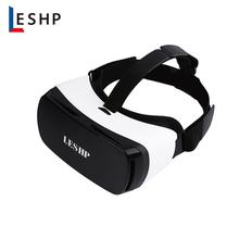LESHP 3D VR Glasses Headset Virtual Reality Goggles Play Movies Photos Enjoyment for Smartphones(China)