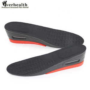4-layer Height Increase Insole Cushion Heightening Cushion Lift Adjustable Cut Shoe Heel Insert Taller Women Men Foot Pad