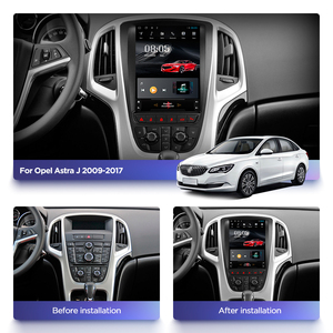 Image 2 - Автомобильный мультимедийный видеоплеер 4G RAM с вертикальным экраном gps для opel ASTRA J verano 14 лет система android 10 Навигация стерео