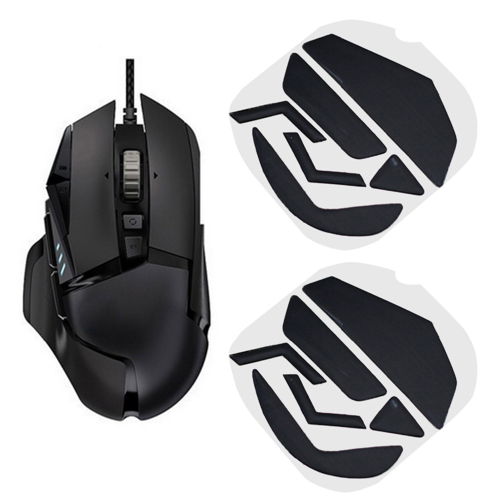 Besegad 2 Set Mice Feet Mouse Skates Pads Replacement Mause Skate Feet for Logitech G502 Gaming Game