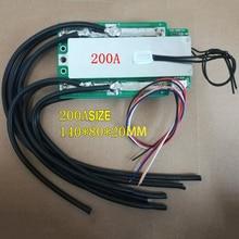 4S 100A 200A 300A 3,2 V LifePo4 Защитная плата 12,8 V автомобильный инвертор датчик СМК и высококачественный