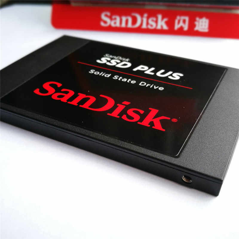 Sandisk ssd mais 240 gb hd ssd disco rígido hdd 2.5 disco rígido ssd 480 gb 240 gb 120 gb 960 unidade de estado sólido para computador portátil
