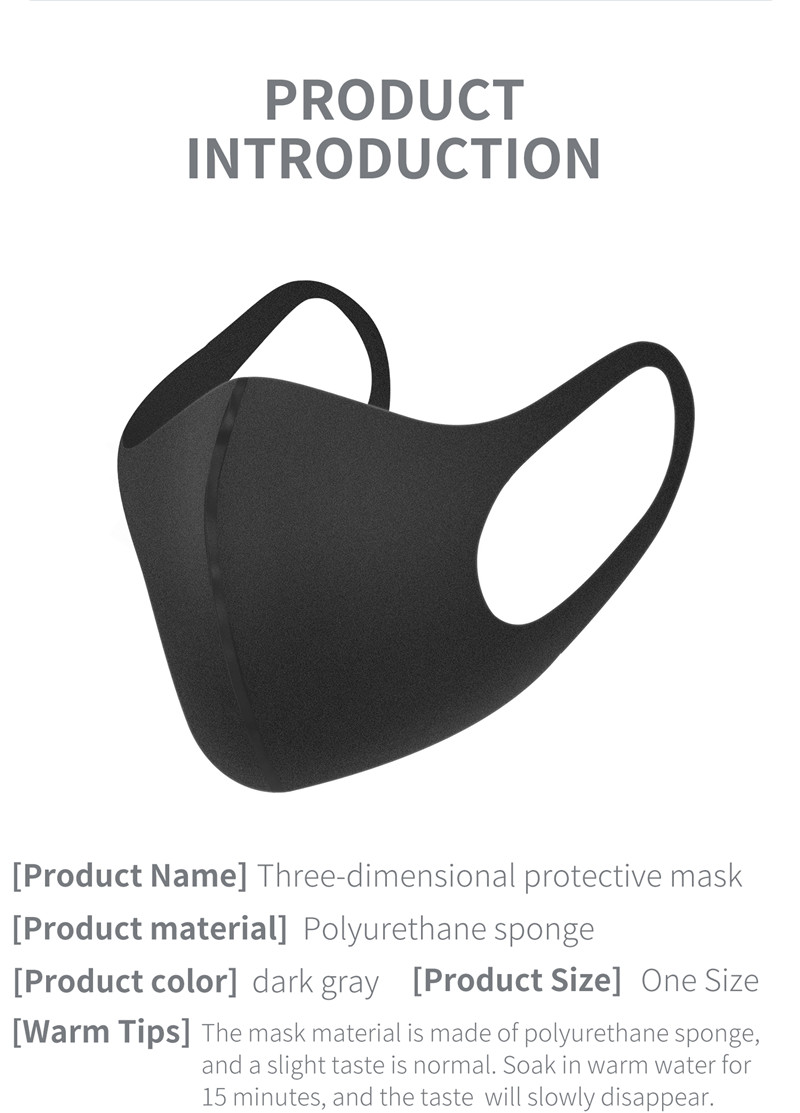 Anti-Dust Cycling Face Mask Cover For Running Men Women Bike Bicycle Breathable PM 2.5 Protection Mouth-Muffle Training Mask