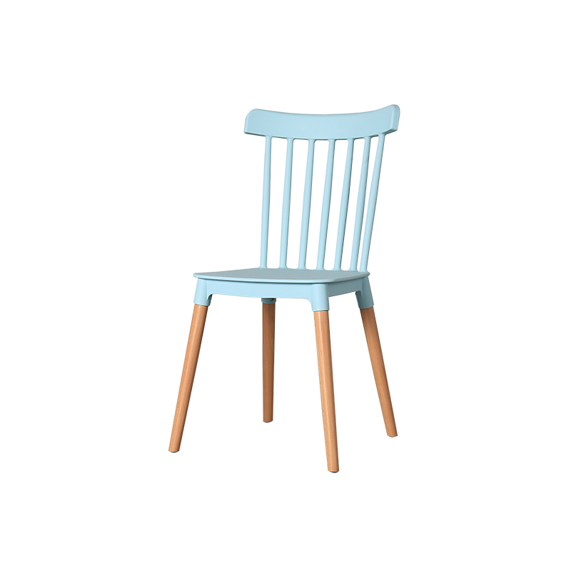 Nordic minimalist dining chair creative fashion casual home modern solid wood Windsor chair personality designer coffee chair