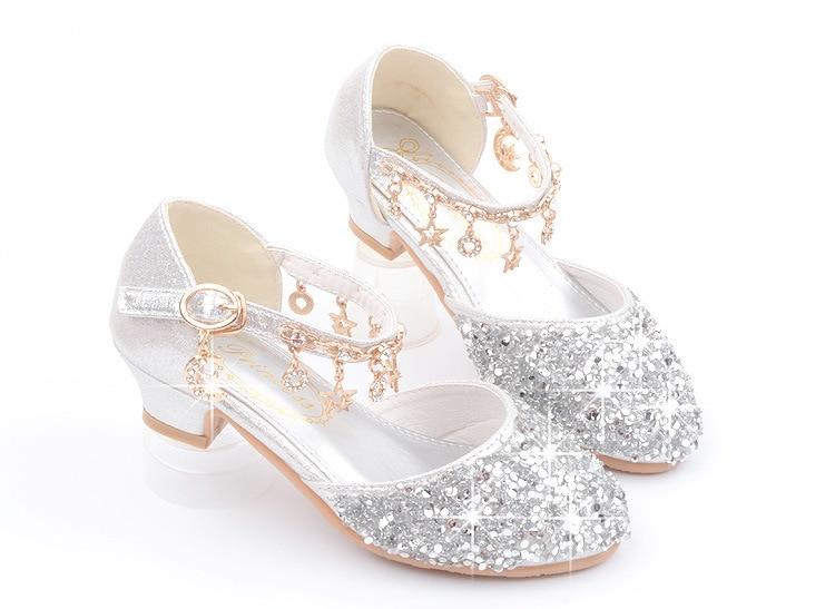espumante cosplay sapatos de princesa com anel decorações
