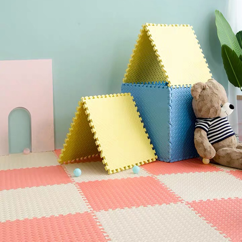 10/24PCS Child Carpet EVA Foam Mat Kids Mat Puzzles Soft Floor Play Mat Toys For Children Jigsaw Mats Baby Gym Tapete Infantil