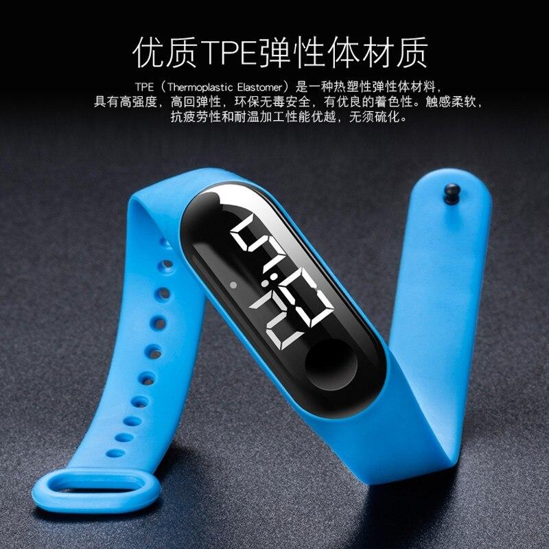 LED Electronic Sports Luminous Sensor Watches Fashion Men And Women Watches часы мужские Relogio Masculino Curren Watch Men