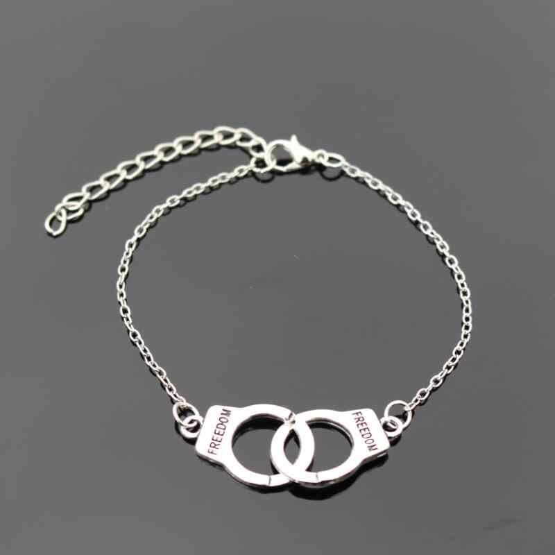 Luzem sprzedaży cena promocja inny kształt metalowe bransoletki dla kobiet