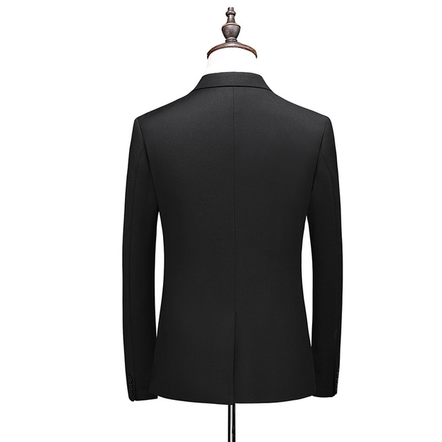 2020 New Arrival Morning suit Wedding Suits For Men Best man's Three Peices Suits (Jacket+Pants+vest) Custom made Black Suits 3