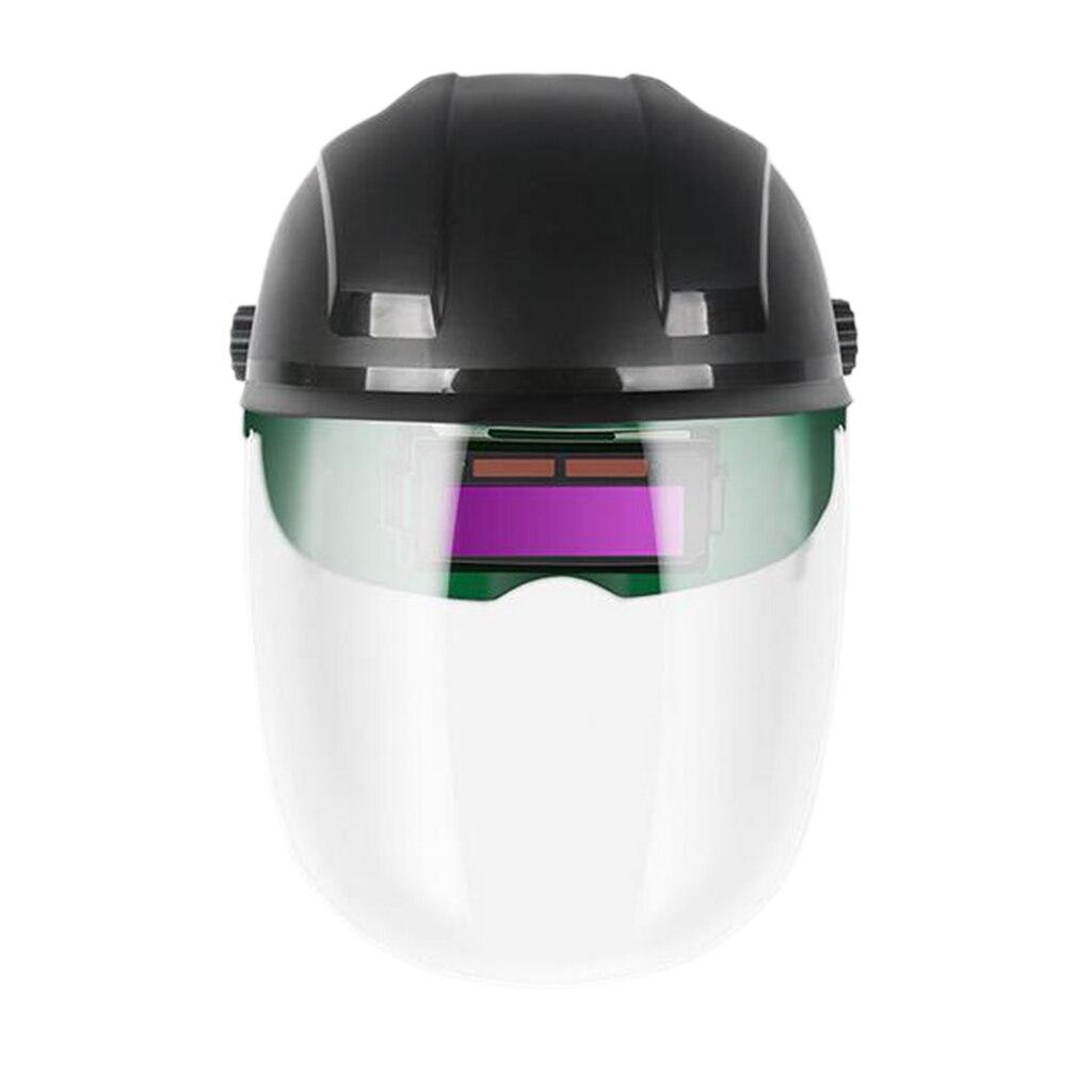 Photoelectric Welding 180 Helmet Half Portable Automatic Welding Flip Mask Helmet Solar