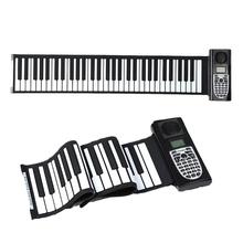 Roll Piano przenośne pianino elektroniczne (61 klawiszy biały) PXPF cheap CN (pochodzenie) PXPF3TT401646