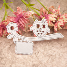 Owl Tree Metal Cutting Dies for DIY Scrapbooking Crafts Album Embossing Folder Dies Stencils Maker Photo Template Decoration special thank you letter metal cutting dies for scrapbooking diy album embossing folder paper card maker template decor stencils