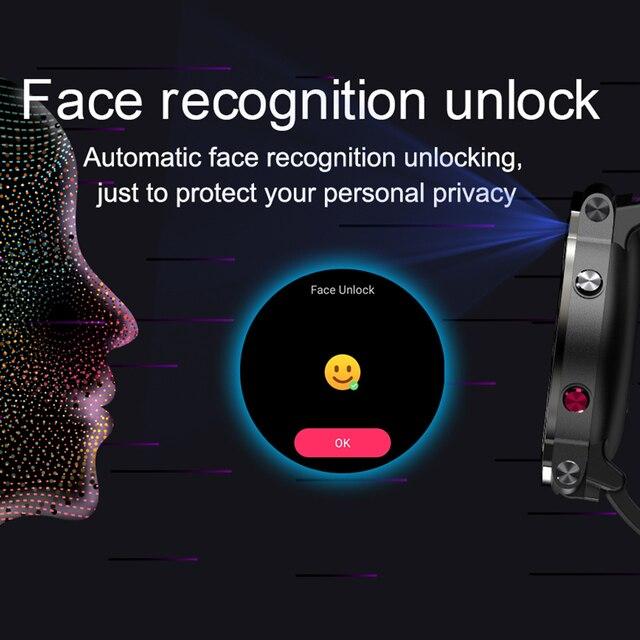 LEMFO LEM13 Smart Watch 4G Slip Dual Camera 1.6 inch Round Screen OS Android 7.1 3G RAM 32G ROM LTE 4G Sim GPS WIFI Men Women 3