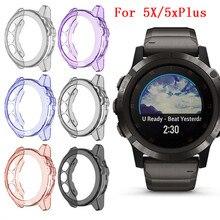 Funda protectora de TPU transparente para reloj inteligente Garmin Fenix 5X, accesorios de protección para Fenix 5X#817