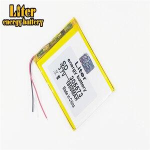 Image 1 - 3 линейная литровая энергетическая батарея 305573, 3,7 в, 1800 мАч, 305570, 305575, литий ионные/Полимерные литий ионные батареи