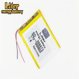 Image 1 - 3 ligne litre batterie dénergie 305573 3.7V 1800mah 305570 305575 PLIB Lithium ion/polymère lithium ion batteries in