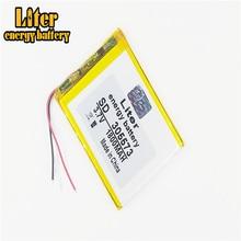 Batería de energía de 3 líneas, 305573, 3,7 V, 1800mah, 305570, 305575, PLIB, de iones de litio/polímero