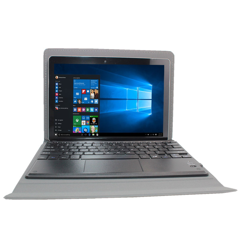 Windows Tablet PC 10.1 Inch Windows 10 Intel Atom Z3735F IPS 2+32GB 1280 X 800 IPS   With Bluetooth Keyboard Case