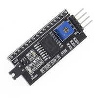 Beste Prijs! Gratis Verzending 100 stks/partij IIC I2C TWI SPI Serial Interface Board Module Port Voor 1602 2004 LCD Display groothandel