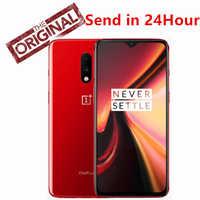 "New Original Oneplus 7 Mobile Phone Snapdragon 855 Octa core 8GB 12GB RAM 256GB ROM UFS 3.0 6.41"" 48MP Camera 4G LTE NFC Smart"
