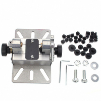 Silver DIY Drill Hole Lathe Polisher Mini Multifunctional Punch Bracket Beads Machine Craft Rotary Tool Aluminum Alloy Durable