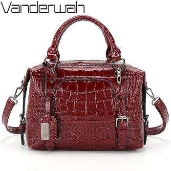 2020 Luxury Handbags Women Bags Designer Patent Leather Crossbody Bags For Women Tote Retro Ladies Shoulder Bag Women's Handbags