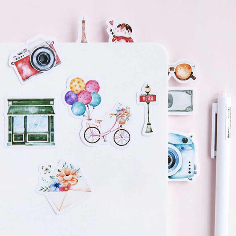 45 sztuk kolekcja naklejki Memo dziennik naklejki pakiet wysłany Kawaii Scrapbooking Planner papiernicze Escolar szkolne