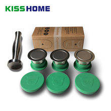 Stainless Steel Reusable Capsule For Nespresso Match Cover /Tamper/Membranes/Preservation Case Coffee Capsules Accessories