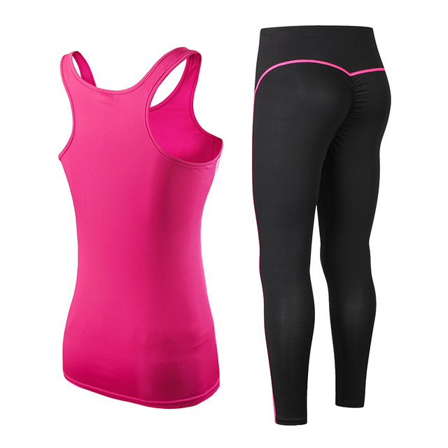 Fitness Gym set with Leggings and Sports Bra 3