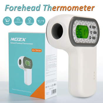 Handheld Infrared Digital Forehead Thermometer Non-contact LCD Body Thermometer Forehead Thermometer Infrared