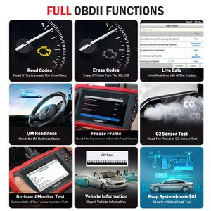 Image 3 - Launch X431 CRP123X Diagnostic Tool Auto Code Reader EOBD OBD2 Scanner Engine Transmission ABS SRS AutoVIN WIFI PK CRP123 VII+