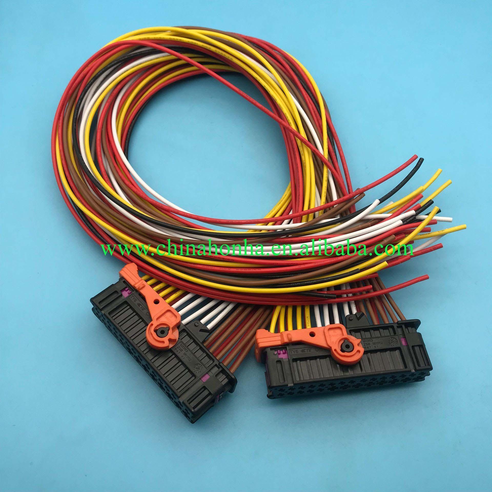 1/ 2/5/10 шт., Противоугонная сигнализация, 28 контактный разъем 1K0 937 702C с проводом 18 AWG 50 см или без провода