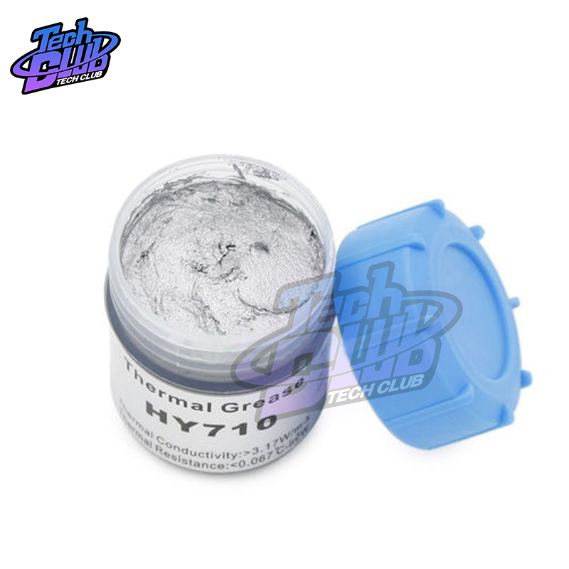 HY510/HY710 10g 20g Grey Silicone Compound Thermal Conductive Grease Paste Heatsink For CPU GPU Chipset Cooling