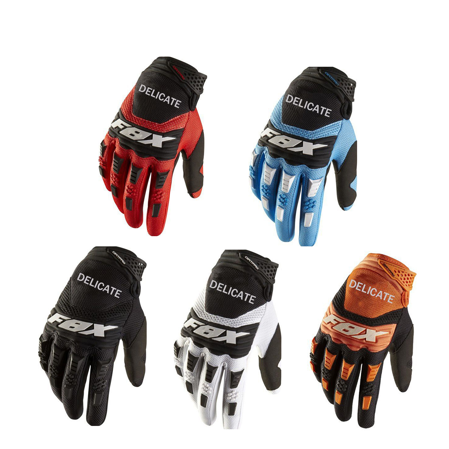Hot Brand MX Motocross Gloves Motorcycle Racing Motorbike Riding Bike Gloves ATV MTB BMX Off Road Outdoor Sports Cycling Gloves