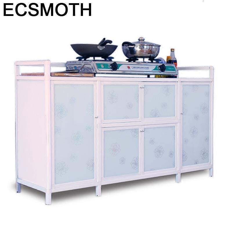 Moveis Sala De Jantar Dolap Kaplama Comedores Mueble Cocina Aluminum Alloy Meuble Buffet Cabinet Kitchen Furniture Cupboard