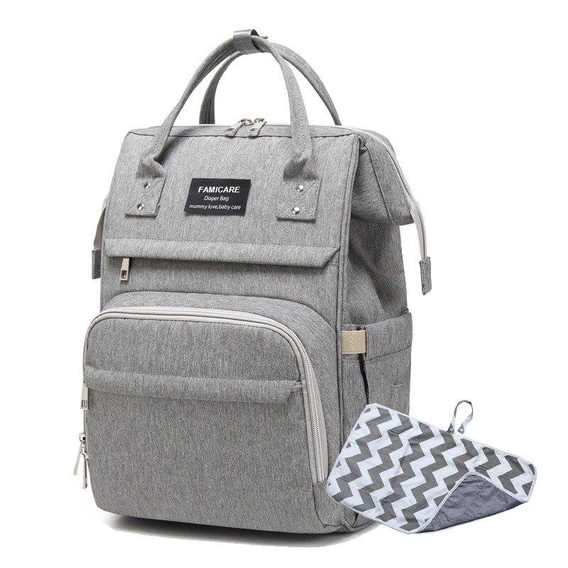 Baby Diaper Bag Backpack Maternity Moms Nursing Bag Large Capacity Waterproof Baby Stroller Travel Nappy Bags