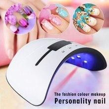 Livraison directe 36 W Pro vernis à ongles sèche LED UV Gel acrylique manucure minuterie Gel à ongles vernis à ongles lampe sèche-ongles outils d'art