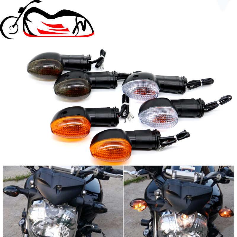 Motociclo Indicatore Moto Spia indicatore di direzione for Yamaha XT 660 660X 660R 2004-2014 MT-03 2006-2012 Motociclo Accessori Anteriore//Posteriore Qualsiasi Dipartimento Color : White