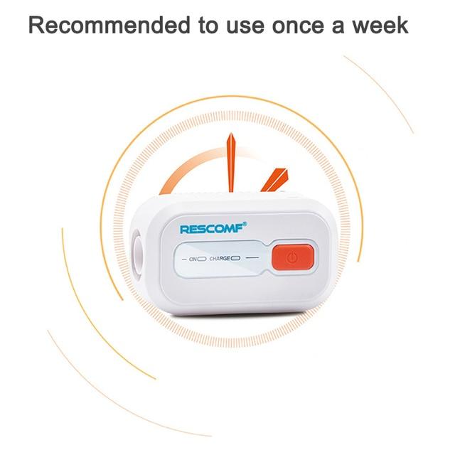 Ventilator Auto CPAP BPAP Cleaner Disinfector 2200mAh Sleep Apnea Anti Snoring  easy to carry JS88 6